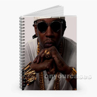 2 Chainz 2 Custom Personalized Spiral Notebook Cover