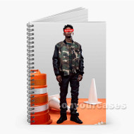 21 Savage Photo Custom Personalized Spiral Notebook Cover