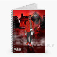21 Savage Slaughter Gang Custom Personalized Spiral Notebook Cover