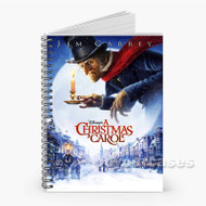 A Christmas Carol Custom Personalized Spiral Notebook Cover