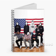 A ap Mob Custom Personalized Spiral Notebook Cover