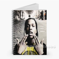 A ap Rocky 2 Custom Personalized Spiral Notebook Cover