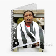 A ap Rocky 3 Custom Personalized Spiral Notebook Cover