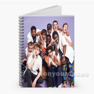 Brockhampton Sugar Custom Personalized Spiral Notebook Cover