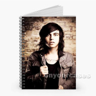 Kellin Quinn Sleeping With Sirens Custom Personalized Spiral Notebook Cover