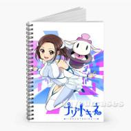 Nazotokine Anime Custom Personalized Spiral Notebook Cover