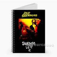Rae Sremmurd Gucci Mane Srem Life 2 Custom Personalized Spiral Notebook Cover