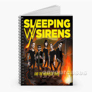Sleeping With Sirens End The Madness Tour Custom Personalized Spiral Notebook Cover