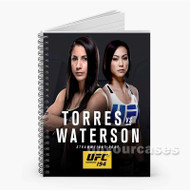 Tecia Torres vs Michelle Waterson UFC Custom Personalized Spiral Notebook Cover
