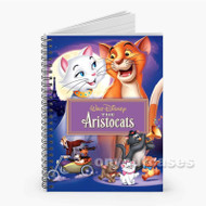 The Aristo Cats Custom Personalized Spiral Notebook Cover