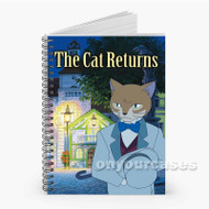 The Cat Returns Custom Personalized Spiral Notebook Cover