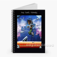 The Sun s Trade Isaiah Rashad Custom Personalized Spiral Notebook Cover