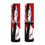 Uta Tokyo Ghoul Custom Sublimation Printed Socks Polyester Acrylic Nylon Spandex with Small Medium Large Size