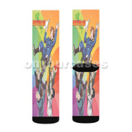 Hetalia Axis Power Celebrate Custom Sublimation Printed Socks Polyester Acrylic Nylon Spandex with Small Medium Large Size