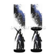 Knight Artorias Dark Souls Custom Sublimation Printed Socks Polyester Acrylic Nylon Spandex with Small Medium Large Size