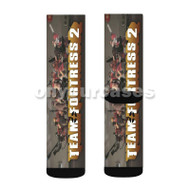 Team Fortress 2 Game Custom Sublimation Printed Socks Polyester Acrylic Nylon Spandex with Small Medium Large Size