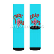 Tyler Creator Cherry Bomb Custom Sublimation Printed Socks Polyester Acrylic Nylon Spandex with Small Medium Large Size