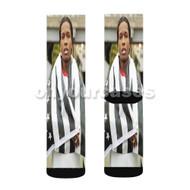 A ap Rocky 3 Custom Sublimation Printed Socks Polyester Acrylic Nylon Spandex with Small Medium Large Size