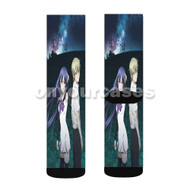 Brynhildr in the Darkness Anime Custom Sublimation Printed Socks Polyester Acrylic Nylon Spandex with Small Medium Large Size