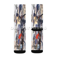 Fire Emblem Awakening Custom Sublimation Printed Socks Polyester Acrylic Nylon Spandex with Small Medium Large Size