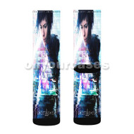 Ghost in the Shell 2017 Custom Sublimation Printed Socks Polyester Acrylic Nylon Spandex with Small Medium Large Size