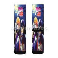 Jojo s Bizzare Adventure Custom Sublimation Printed Socks Polyester Acrylic Nylon Spandex with Small Medium Large Size