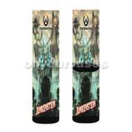 Overwatch Junkensteins Revenge Custom Sublimation Printed Socks Polyester Acrylic Nylon Spandex with Small Medium Large Size