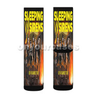 Sleeping With Sirens End The Madness Tour Custom Sublimation Printed Socks Polyester Acrylic Nylon Spandex with Small Medium Large Size