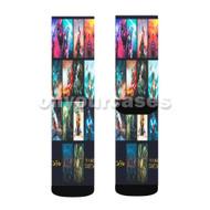 The Human Condition Jon Bellion Custom Sublimation Printed Socks Polyester Acrylic Nylon Spandex with Small Medium Large Size