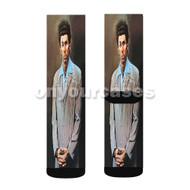 THe Kramer Jerry Seinfeld Custom Sublimation Printed Socks Polyester Acrylic Nylon Spandex with Small Medium Large Size