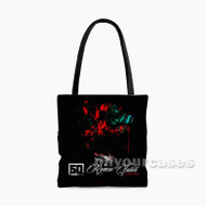 50 Cent No Romeo No Juliet feat Chris Brown Custom Personalized Tote Bag Polyester with Small Medium Large Size