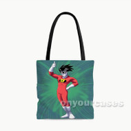 Freakazoid Custom Personalized Tote Bag Polyester with Small Medium Large Size