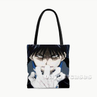 Fullmetal Alchemist Brotherhood Roy Mustang Custom Personalized Tote Bag Polyester with Small Medium Large Size