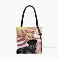 Future Diary Mirai Nikki Custom Personalized Tote Bag Polyester with Small Medium Large Size