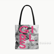 Girls Custom Personalized Tote Bag Polyester with Small Medium Large Size