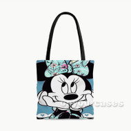 Minnie Mouse Disney Custom Personalized Tote Bag Polyester with Small Medium Large Size