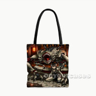 Monster Custom Personalized Tote Bag Polyester with Small Medium Large Size