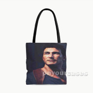 Nathan Drake Uncharted 4 A Thief s End Custom Personalized Tote Bag Polyester with Small Medium Large Size