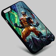 Wolverine X-Men on your case iphone 4 4s 5 5s 5c 6 6plus 7 Samsung Galaxy s3 s4 s5 s6 s7 HTC Case