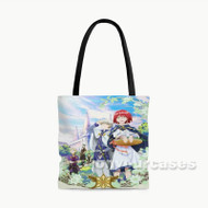 Snow White with The Red Hair Custom Personalized Tote Bag Polyester with Small Medium Large Size