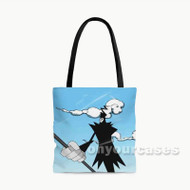 Soul Eater Death Scythes Custom Personalized Tote Bag Polyester with Small Medium Large Size