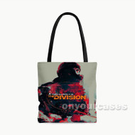 Tom Clancys The Division Custom Personalized Tote Bag Polyester with Small Medium Large Size