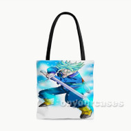 Trunks Future Dragon Ball Super Custom Personalized Tote Bag Polyester with Small Medium Large Size