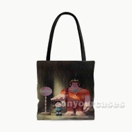 Wreck it Ralph Totoro Custom Personalized Tote Bag Polyester with Small Medium Large Size