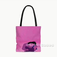 Aladdin and Jasmine Custom Personalized Tote Bag Polyester with Small Medium Large Size