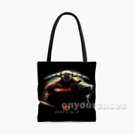 Dota 2 Sven Custom Personalized Tote Bag Polyester with Small Medium Large Size