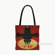 Firefly Silhouette Joss Whedon Custom Personalized Tote Bag Polyester with Small Medium Large Size