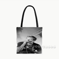 Joel Birch The Amity Afflictioni Custom Personalized Tote Bag Polyester with Small Medium Large Size