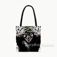Joker Batman Custom Personalized Tote Bag Polyester with Small Medium Large Size