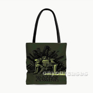 Nuclear Winter is Coming Game of Thrones Custom Personalized Tote Bag Polyester with Small Medium Large Size